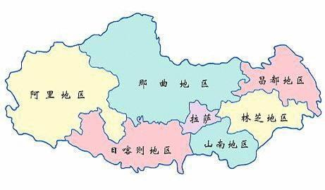 20幅新疆,西藏,青海,川西,甘南旅游地图,珍藏精简版