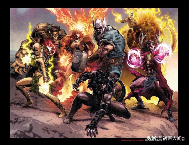 漫威超级英雄的源头,传承的开端-石器时代复仇者