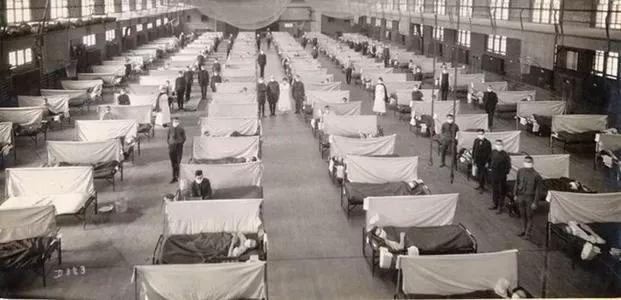 回顾1918年的致命肺炎,历史总是惊人的相似