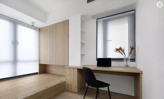 卧室太小,除了床又想要书桌又要衣柜?你一定需要书桌柜省空间
